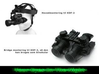 nv bridge til kof-2 night vision natkikkert mono goggle