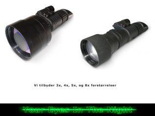 forstørrelses linser til kof-2 night vision natkikkert mono goggle