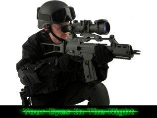 Pulsar phantom 3x50 / 4x60 nat riffel sigte night vision