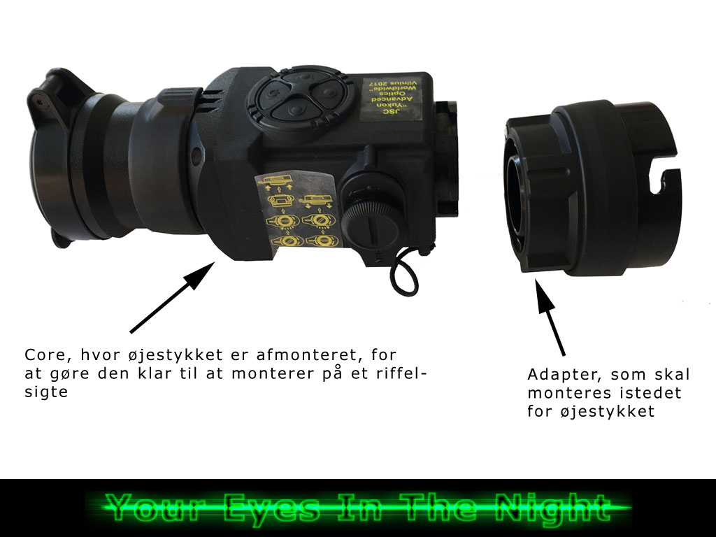 Pulsar Core FXQ38 termisk add on til kikkertsigte – Koflar night vision natkikkert nightvision