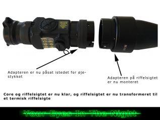 pulsar termisk kikkert core fxq50 frontmonteret